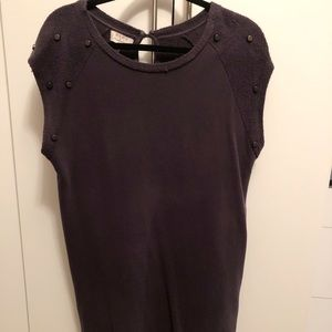 Zara dark gray dress or long top with legging
